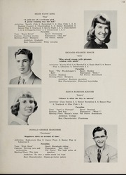 Page 15, 1953 Edition, Sharon High School - Marsengold Yearbook (Sharon, MA) online yearbook collection