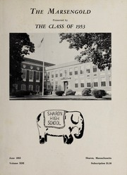 Page 3, 1953 Edition, Sharon High School - Marsengold Yearbook (Sharon, MA) online yearbook collection