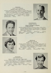 Page 10, 1956 Edition, Sharon High School - Marsengold Yearbook (Sharon, MA) online yearbook collection