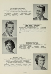 Page 12, 1956 Edition, Sharon High School - Marsengold Yearbook (Sharon, MA) online yearbook collection