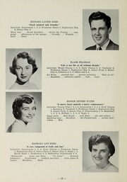 Page 14, 1956 Edition, Sharon High School - Marsengold Yearbook (Sharon, MA) online yearbook collection