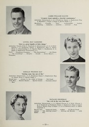 Page 15, 1956 Edition, Sharon High School - Marsengold Yearbook (Sharon, MA) online yearbook collection