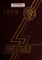 Page 1, 1959 Edition, Sharon High School - Marsengold Yearbook (Sharon, MA) online yearbook collection