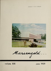 Page 7, 1959 Edition, Sharon High School - Marsengold Yearbook (Sharon, MA) online yearbook collection