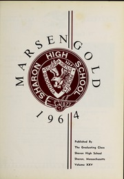 Page 5, 1964 Edition, Sharon High School - Marsengold Yearbook (Sharon, MA) online yearbook collection