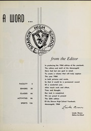 Page 7, 1964 Edition, Sharon High School - Marsengold Yearbook (Sharon, MA) online yearbook collection
