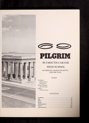 Page 7, 1969 Edition, Plymouth Carver High School - Pilgrim Yearbook (Plymouth, MA) online yearbook collection
