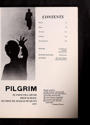 Page 5, 1971 Edition, Plymouth Carver High School - Pilgrim Yearbook (Plymouth, MA) online yearbook collection