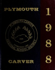1988 Edition, Plymouth Carver High School - Pilgrim Yearbook (Plymouth, MA)
