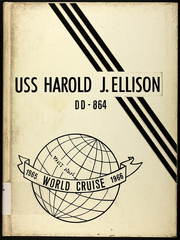Page 1, 1966 Edition, Harold J Ellison (DD 864) - Naval Cruise Book online yearbook collection