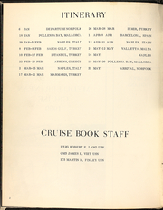 Page 6, 1969 Edition, Harold J Ellison (DD 864) - Naval Cruise Book online yearbook collection