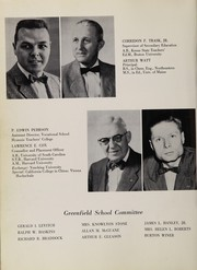 Page 10, 1958 Edition, Greenfield High School - Exponent Yearbook (Greenfield, MA) online yearbook collection