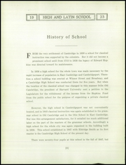 Page 12, 1923 Edition, Cambridge Latin High School - Review Yearbook (Cambridge, MA) online yearbook collection