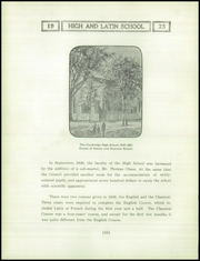 Page 14, 1923 Edition, Cambridge Latin High School - Review Yearbook (Cambridge, MA) online yearbook collection