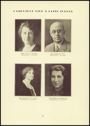 Page 17, 1940 Edition, Cambridge Latin High School - Review Yearbook (Cambridge, MA) online yearbook collection