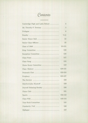 Page 6, 1943 Edition, Cambridge Latin High School - Review Yearbook (Cambridge, MA) online yearbook collection