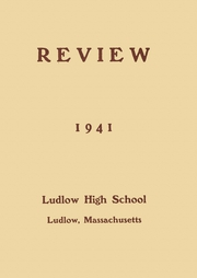 1941 Edition, Ludlow High School - Lion Yearbook (Ludlow, MA)