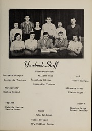 Page 7, 1957 Edition, Bellingham High School - Epilogue Yearbook (Bellingham, MA) online yearbook collection