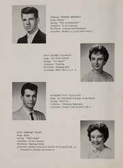 Page 16, 1961 Edition, Bellingham High School - Epilogue Yearbook (Bellingham, MA) online yearbook collection