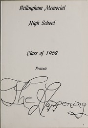 Page 5, 1968 Edition, Bellingham High School - Epilogue Yearbook (Bellingham, MA) online yearbook collection