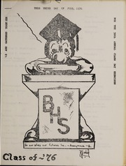 Page 11, 1976 Edition, Bellingham High School - Epilogue Yearbook (Bellingham, MA) online yearbook collection