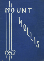 1952 Edition, Holliston High School - Mount Hollis Yearbook (Holliston, MA)