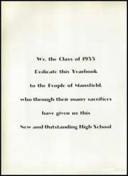Page 6, 1955 Edition, Mansfield High School - Echo Yearbook (Mansfield, MA) online yearbook collection