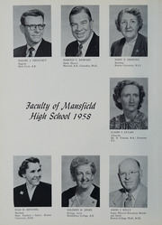 Page 12, 1958 Edition, Mansfield High School - Echo Yearbook (Mansfield, MA) online yearbook collection