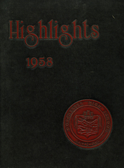 1958 Edition, Dorchester High School - Yearbook (Dorchester, MA)