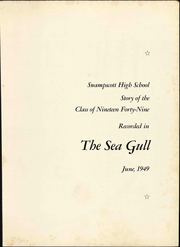 Page 7, 1949 Edition, Swampscott High School - Sea Gull Yearbook (Swampscott, MA) online yearbook collection
