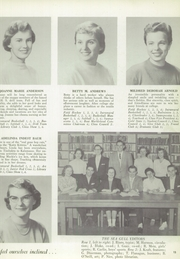 Page 17, 1956 Edition, Swampscott High School - Sea Gull Yearbook (Swampscott, MA) online yearbook collection