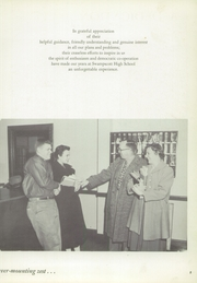 Page 9, 1956 Edition, Swampscott High School - Sea Gull Yearbook (Swampscott, MA) online yearbook collection