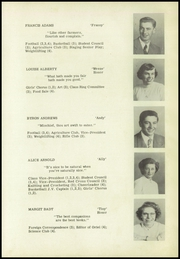 Page 9, 1950 Edition, Westborough High School - Cotton Gin Yearbook (Westborough, MA) online yearbook collection