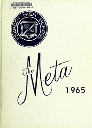 1965 Edition, Peabody High School - Meta Yearbook (Peabody, MA)
