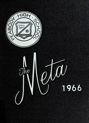 1966 Edition, Peabody High School - Meta Yearbook (Peabody, MA)