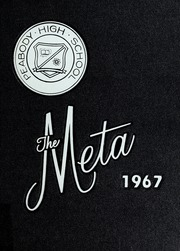 1967 Edition, Peabody High School - Meta Yearbook (Peabody, MA)