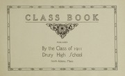 Page 7, 1911 Edition, Drury High School - Class Book Yearbook (North Adams, MA) online yearbook collection
