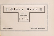 Page 5, 1913 Edition, Drury High School - Class Book Yearbook (North Adams, MA) online yearbook collection