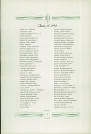 Page 12, 1936 Edition, Drury High School - Class Book Yearbook (North Adams, MA) online yearbook collection