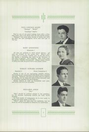 Page 15, 1936 Edition, Drury High School - Class Book Yearbook (North Adams, MA) online yearbook collection