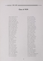 Page 10, 1939 Edition, Drury High School - Class Book Yearbook (North Adams, MA) online yearbook collection