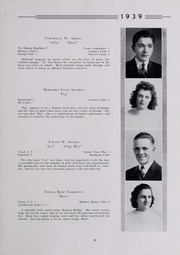 Page 13, 1939 Edition, Drury High School - Class Book Yearbook (North Adams, MA) online yearbook collection