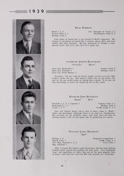 Page 14, 1939 Edition, Drury High School - Class Book Yearbook (North Adams, MA) online yearbook collection