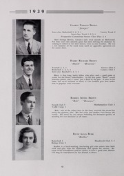 Page 16, 1939 Edition, Drury High School - Class Book Yearbook (North Adams, MA) online yearbook collection