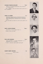Page 13, 1952 Edition, Drury High School - Class Book Yearbook (North Adams, MA) online yearbook collection