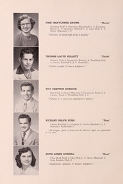 Page 14, 1952 Edition, Drury High School - Class Book Yearbook (North Adams, MA) online yearbook collection