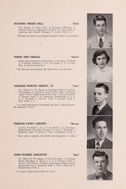 Page 15, 1952 Edition, Drury High School - Class Book Yearbook (North Adams, MA) online yearbook collection