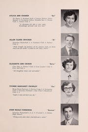 Page 17, 1952 Edition, Drury High School - Class Book Yearbook (North Adams, MA) online yearbook collection