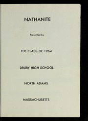 Page 5, 1964 Edition, Drury High School - Class Book Yearbook (North Adams, MA) online yearbook collection