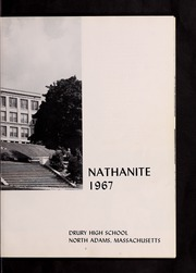 Page 7, 1967 Edition, Drury High School - Class Book Yearbook (North Adams, MA) online yearbook collection